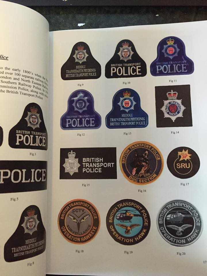 British Transport Police pages