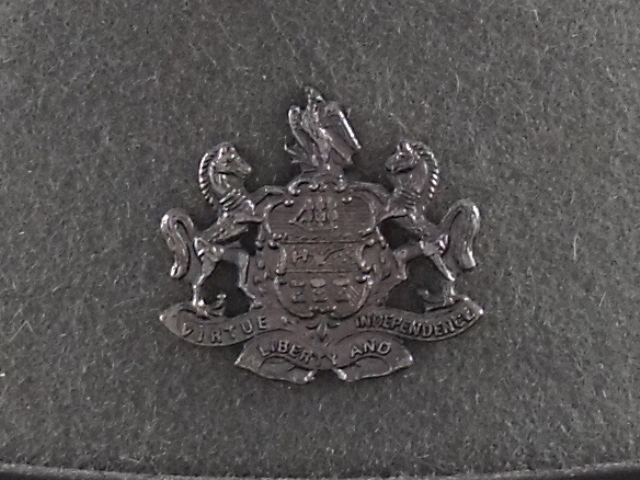 Pennsylvania State Police hat badge