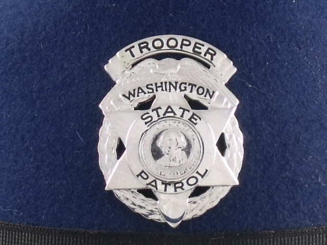 Washington State Patrol hat badge